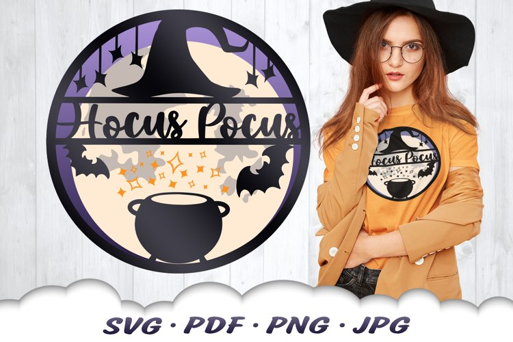 Halloween Hocus Pocus SVG Cut Files example image 1