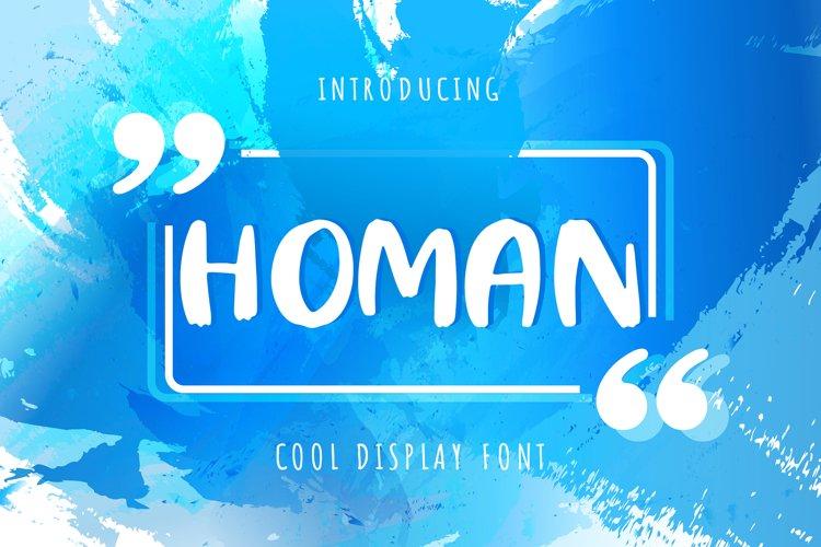 Homan example image 1