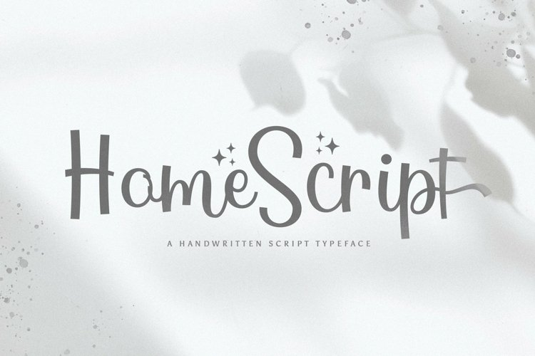 Web Font Home example image 1