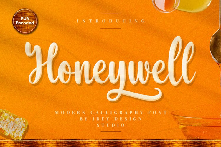 Honeywell - Modern Calligraphy Font example image 1