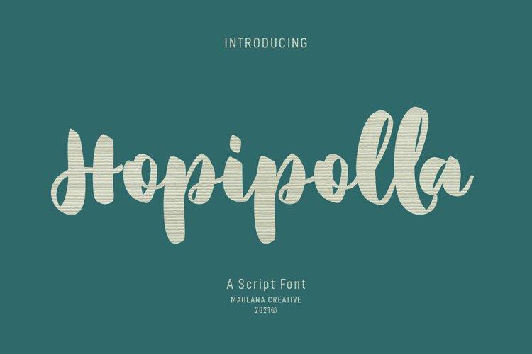 Hopipolla Script Font example image 1