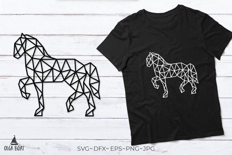 Horse svg Horse outline Horse riding Geometric animals
