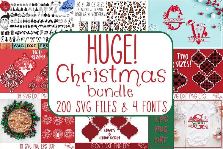 Christmas SVG Bundle | Christmas Craft Bundle Cricut