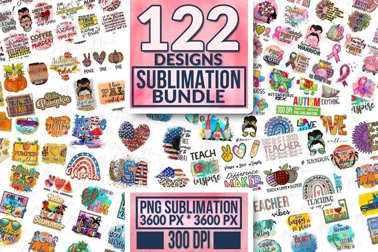 Huge Sublimation Bundle, 300 DPI. example image 1