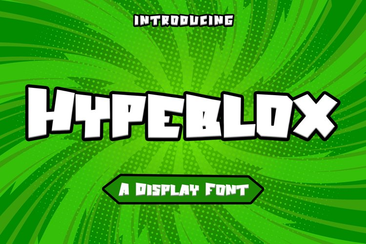 Hypeblox - Display Font example image 1