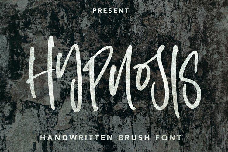 Web Font Hypnosis Brush - Handwritten Brush Font example image 1