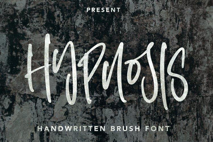 Hypnosis Brush - Handwritten Brush Font example image 1