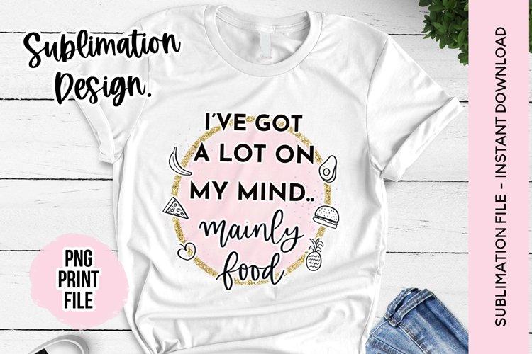 Sublimation Design - Funny Quote Sublimation File