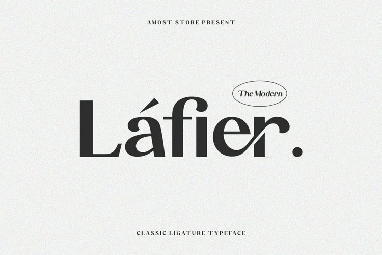 Lafier - Classic Ligature