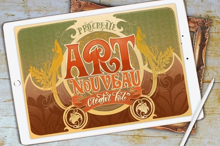 Modern Art Nouveau Creator Kit