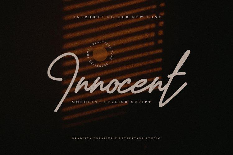 Innocent Script example image 1