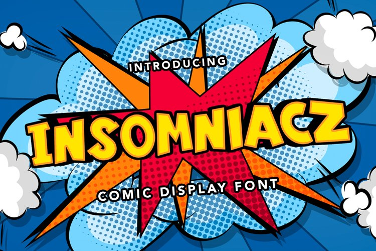 Insomniacz - Comic Display Font example image 1