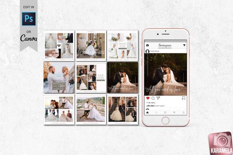 Instagram Post Templates - Canva & Photoshop
