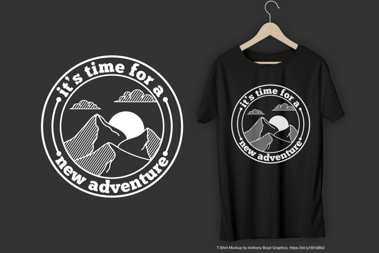 Its Time For a New Adventure T-Shirt Design
