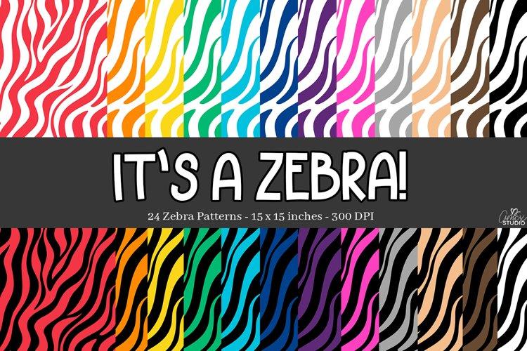 Zebra Stripes Digital Papers