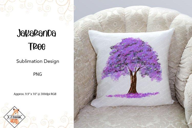 Jacaranda Tree Sublimation