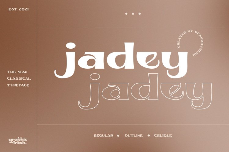 Jadey - The Classical Serif Font example image 1