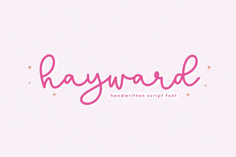 Hayward - A Handwritten Script Font example image 1