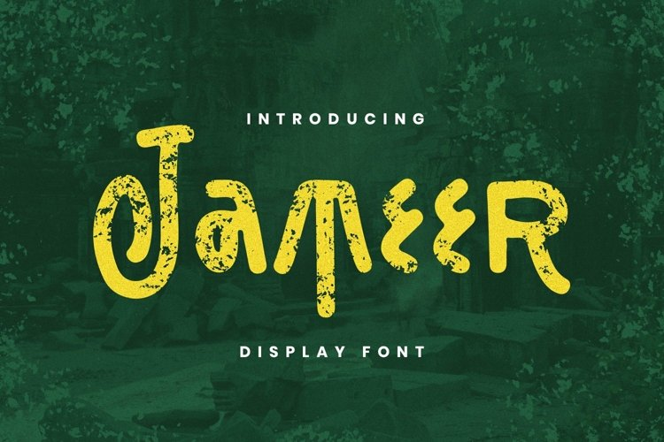 Web Font Jameer example image 1