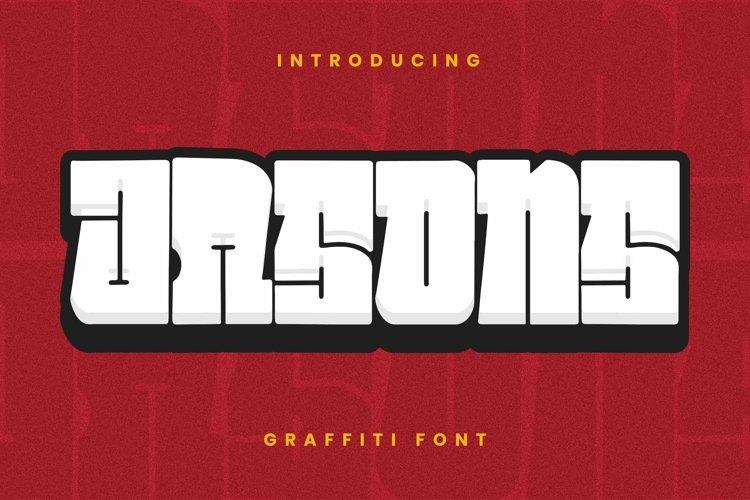 Web Font JASONS Font example image 1