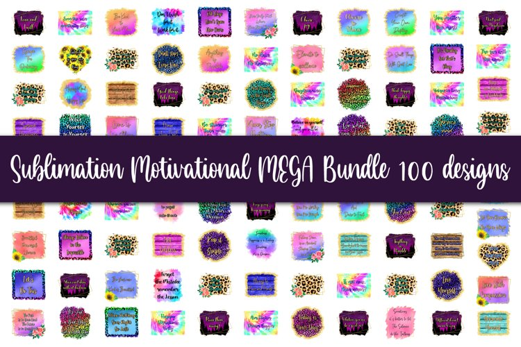 Sublimation MEGA bundle, Motivational quotes, Inspiration