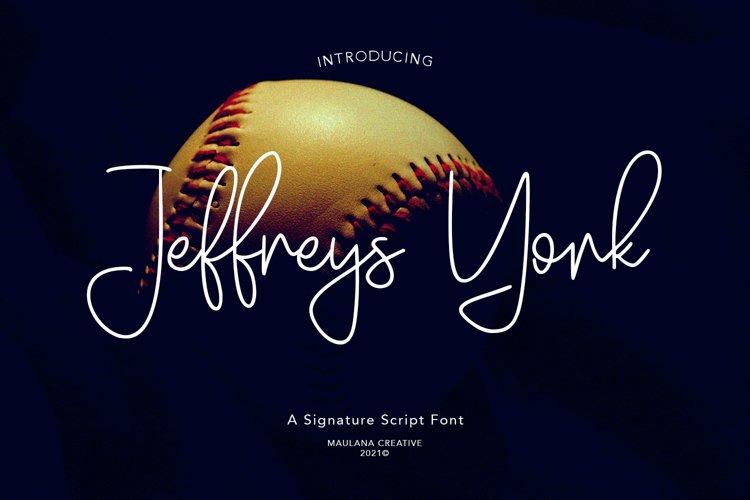 Jeffreys York Signature Script example image 1