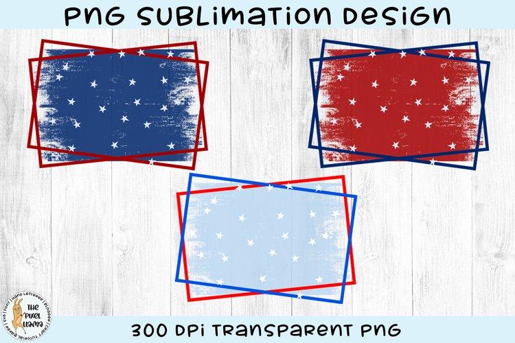 Patriotic Sublimation Backgrounds