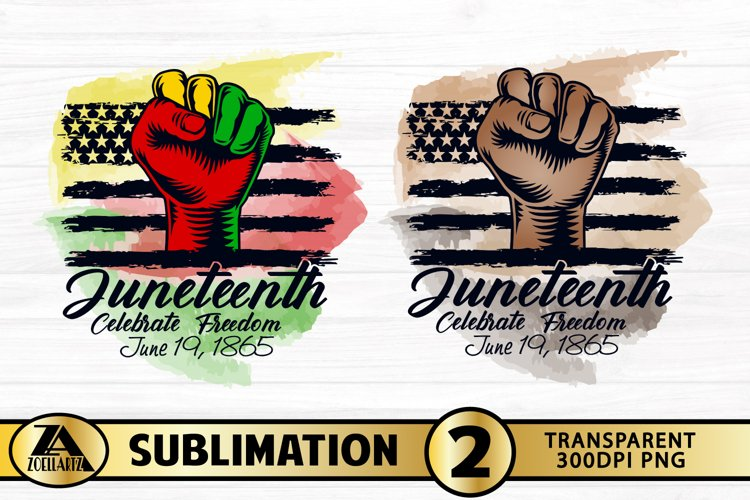 JUNETEENTH SUBLIMATION PNG Black Lives Matter PNG Watercolor
