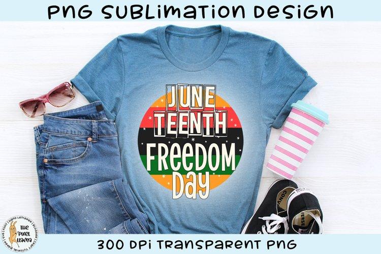 Juneteenth Sublimation Design