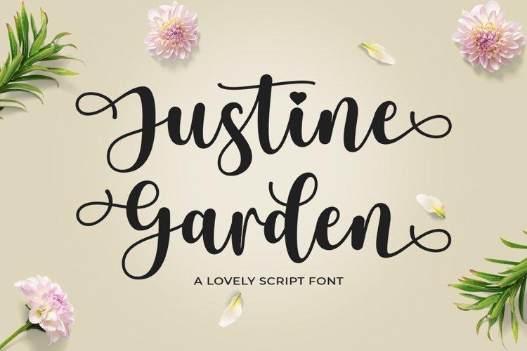 Justine Garden example image 1