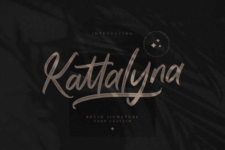 Kattalyna Brush Signature example image 1