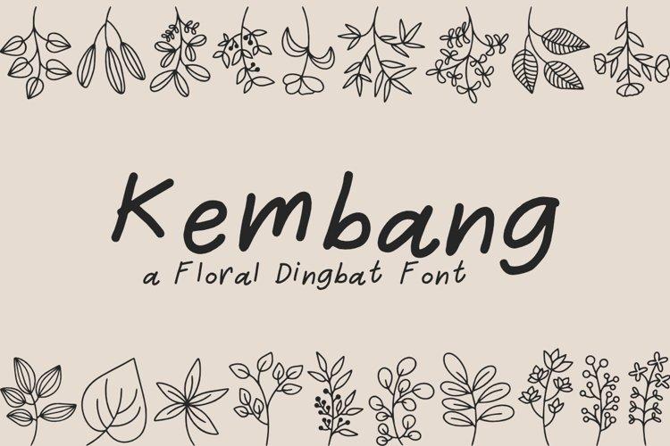 Kembang - Floral Dingbat example image 1
