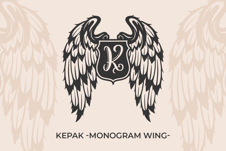Kepak - monogram - example image 1