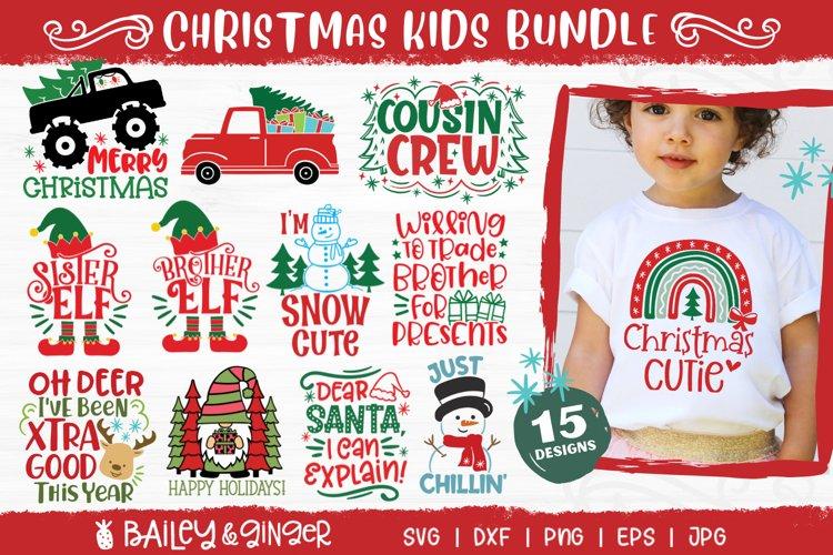 Christmas SVG Bundle for Kids Shirts