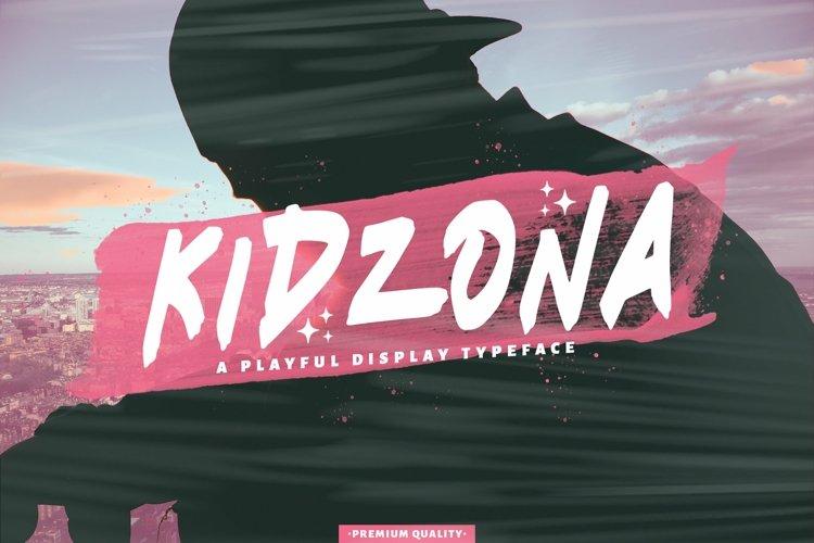 Web Font Kidzona