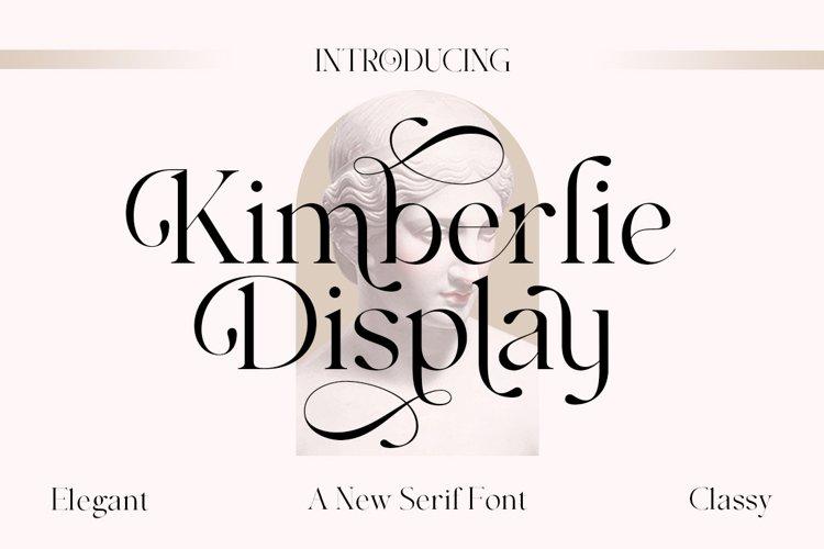 Kimberlie Display example image 1