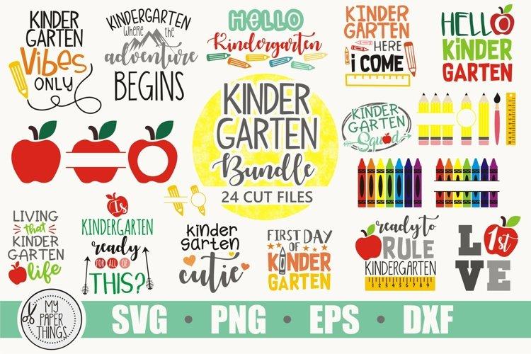 Kindergarten SVG Bundle | Back to School SVG