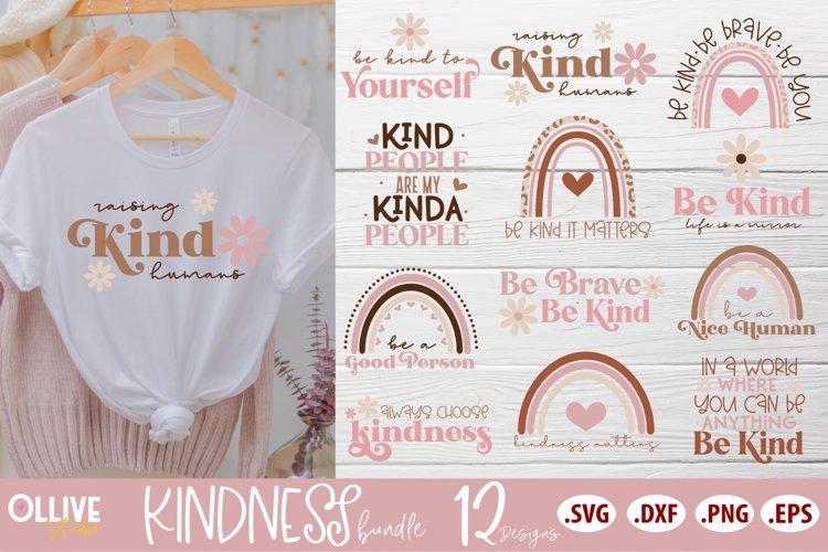 Kindness Bundle SVG | 12 Designs SVG PNG EPS DXF