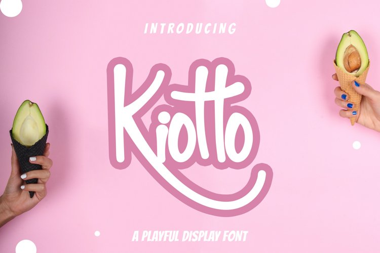Kiotto Playful Display Font example image 1