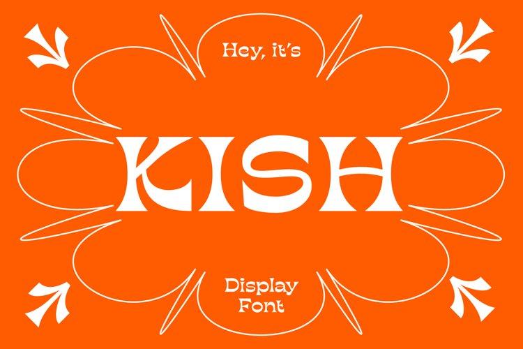 KISH Quirky Display Font example image 1