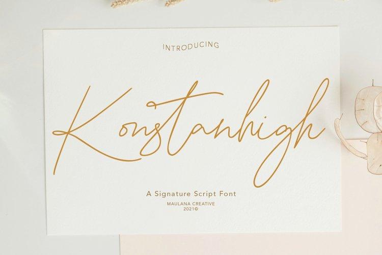Konstanhigh Signature Script example image 1