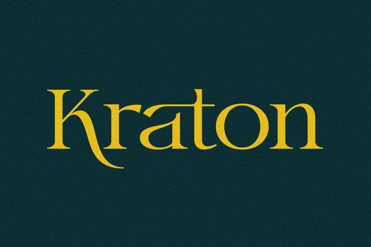 Kraton Font example image 1