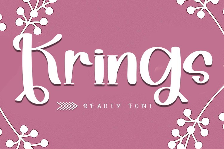 Krings - Smart Handwritten Font example image 1