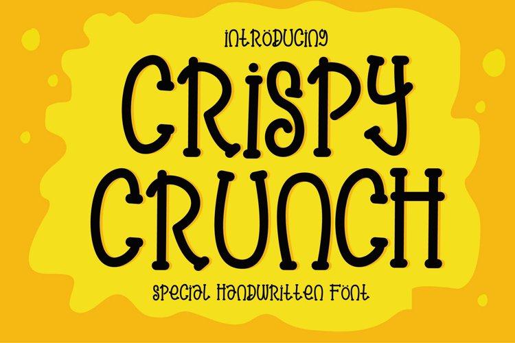 Crispy Crunch Font example image 1