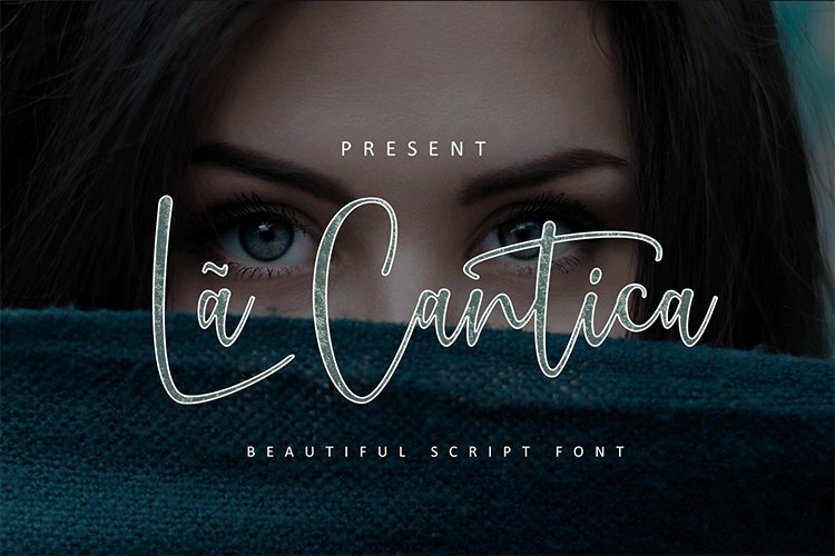 La Cantica Script Font example image 1