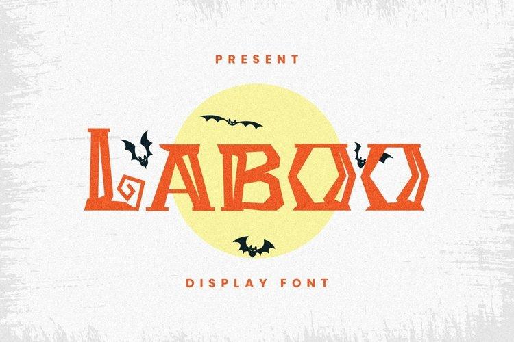 Web Font Laboo Font example image 1