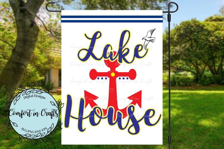 Lake House SVG example image 1