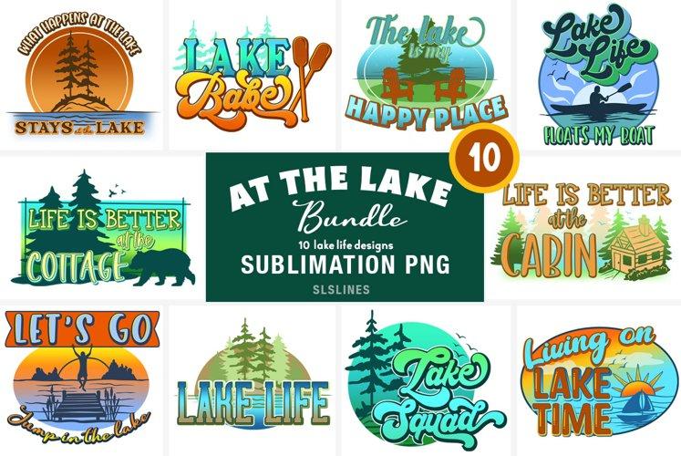 Lake & Cabin Sublimation BUNDLE - Summer Vacation Designs