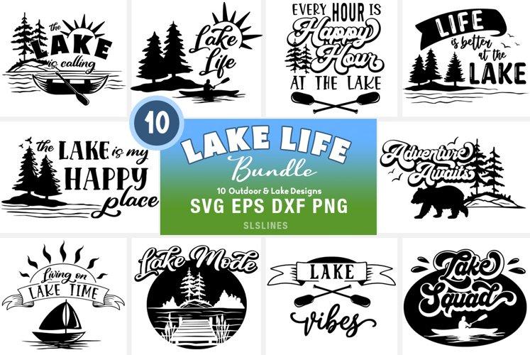 Lake   Outdoors SVG Bundle - Summer Fun Cut Files