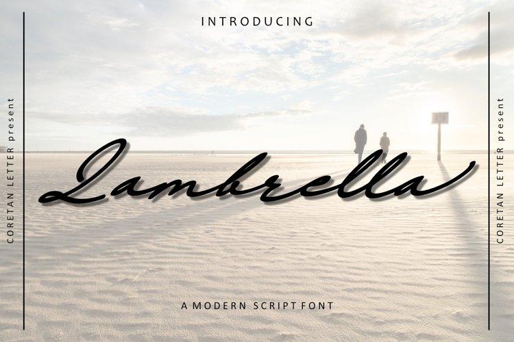 Lambrella example image 1